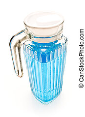 jarra, con, agua