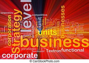jarzący się, pojęcie, handlowy, tło, strategia