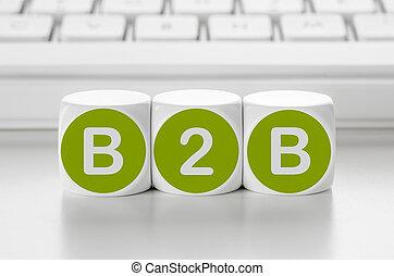 jarzyna pokrajana w kostkę, -, litera, klawiatura, przód, b2b