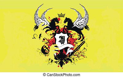 jas, heraldisch, background3, armen