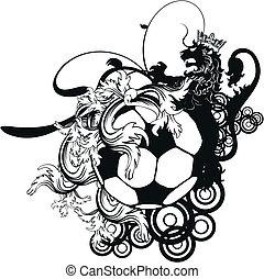jas, heraldisch, voetbal, crest1, armen