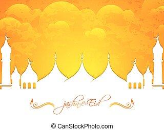 Jashn -e- Eid Abstract