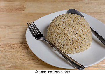 Jasmine Rice, Brown