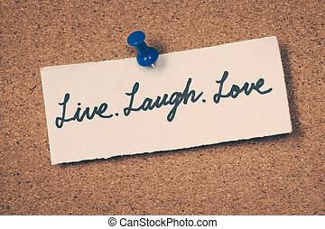 jasný, láska, smích
