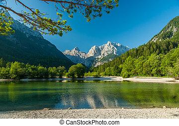 jasna, スロベニア, 湖