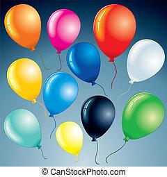 jasny, balony