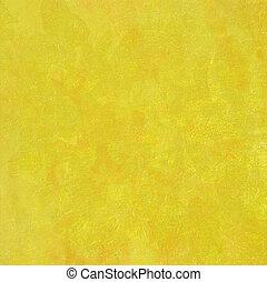 jaspeado, muy, fondo amarillo, textured