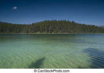Jasper National Park Athabasca River - Athabasca River in...