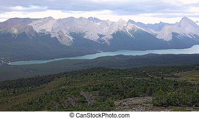 jasper parco nazionale, alberta, canada