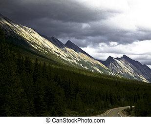 jasper parco nazionale, canada