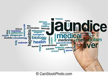 Jaundice word cloud