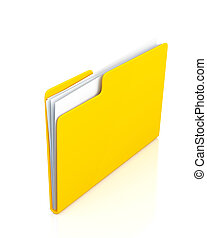 jaune, clair, fond, papiers, dossier, blanc
