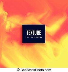 jaune, clair, vecteur, texture, fond, orange