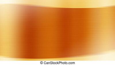 jaune, et, orange, résumé, fond