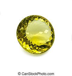jaune, gemme