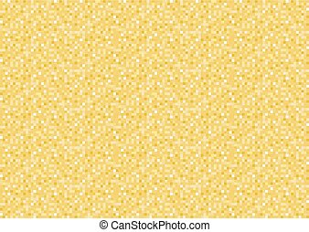jaune, pixel, fond