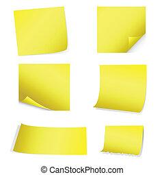 jaune, poteau-il