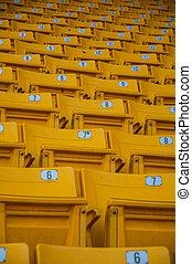 jaune, siège