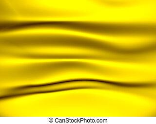 jaune, tissu, fond
