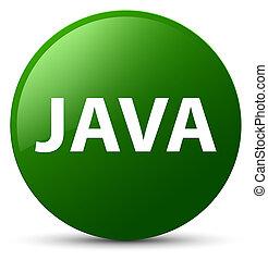 Java green round button