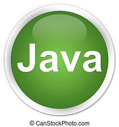 Java premium soft green round button