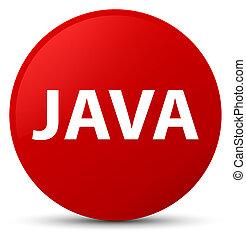 Java red round button