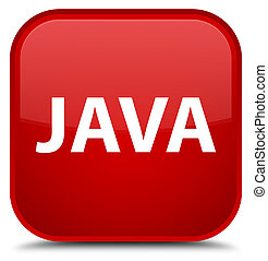 Java special red square button