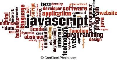 Javascript word cloud