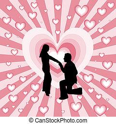 javaslat, házasság