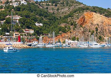 Javea Xabia port marina good vacation destination in Alicante Spain