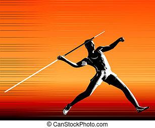 Javelin - Digital Illustration 2D