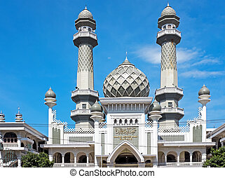 jawa, indonezja, meczet, agung, masjid, malang