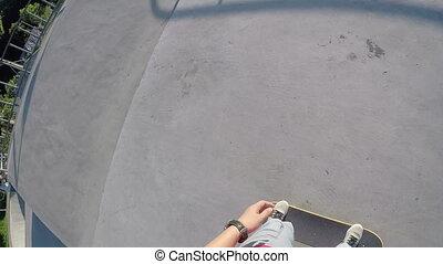 jazda na desce, skatepark
