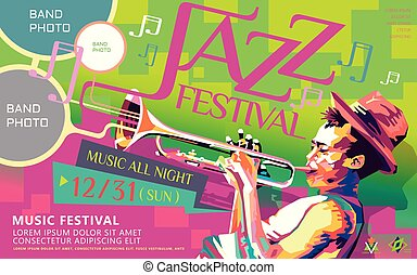 Jazz all night poster