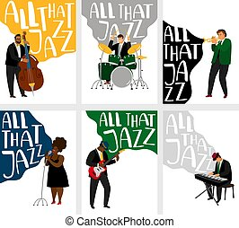Jazz banners set