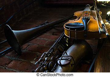 Jazz Club Instruments Night