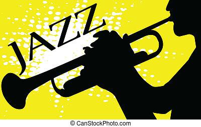 Jazz concept - vector