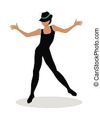 Jazz Dancer Tap Dance, Jitterbug, Swing, Lindy Hop - Jazz ...