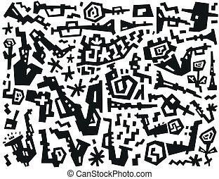 jazz - doodles set