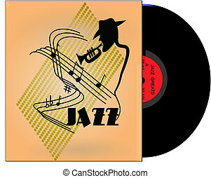 jazz greats album from 50\'s - jazz greats album in 33 1/3...