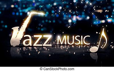 Jazz Music Saxophone Silver City