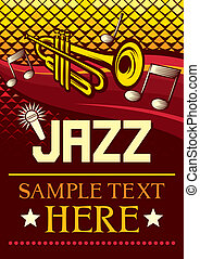 jazz, plakat