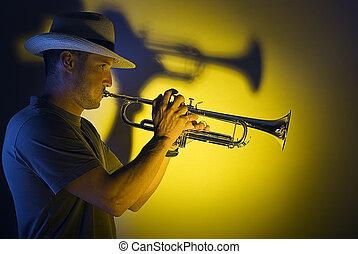 jazz, trompette