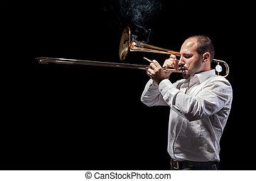Jazzing hard