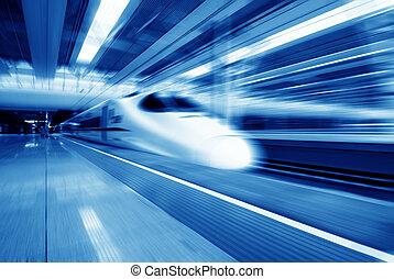 jeûne, trains