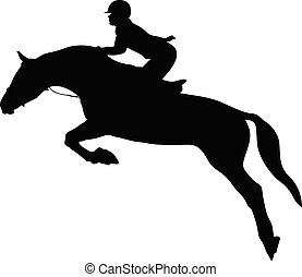 jeździec konia, kobieta, equestrianism