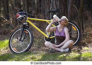 jeżdżenie na rowerze