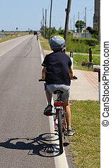jeżdżenie rower, koźlę