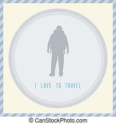 je, amour, à, travel1
