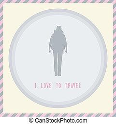 je, amour, à, travel2